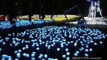 梦幻灯光展出租琉璃艺术镜花宫出租灯光 花灯08月31日