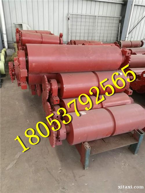甲带给煤机主动滚筒从动滚筒尺寸厂家专业生产