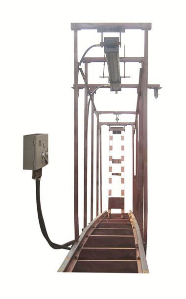 气动挡车梁安装方式QZCL-240气动挡车梯作用